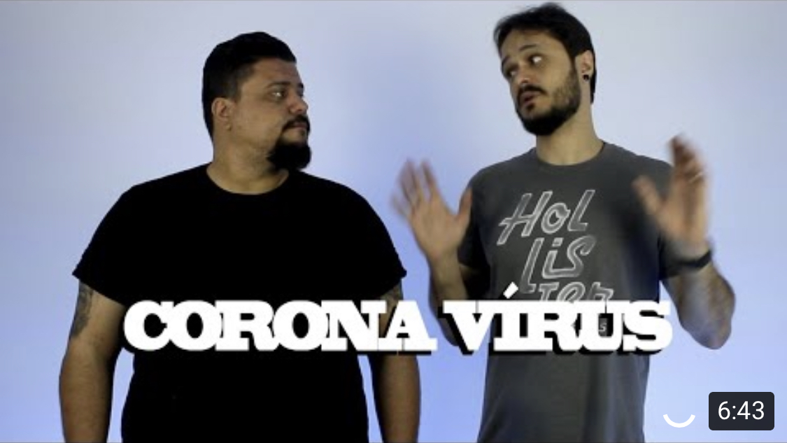Corona Vírus e Hipnose?